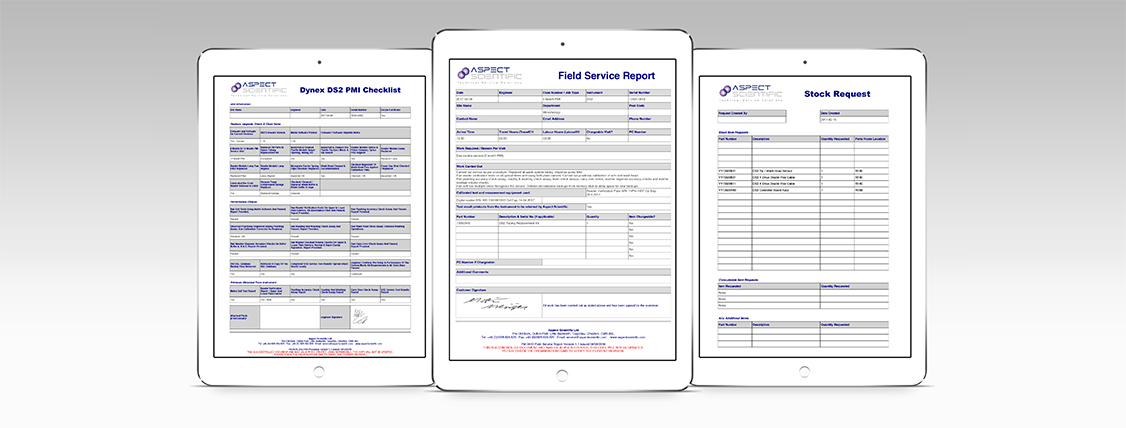 Field service reports