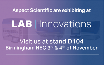 Aspect Scientific to exhibit at the Lab Innovations 2021